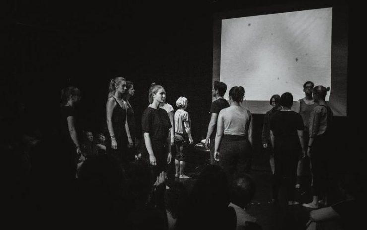 Jaroslav Viňarský: The Touch of the Open (in progress) (foto: Orsi Varga)