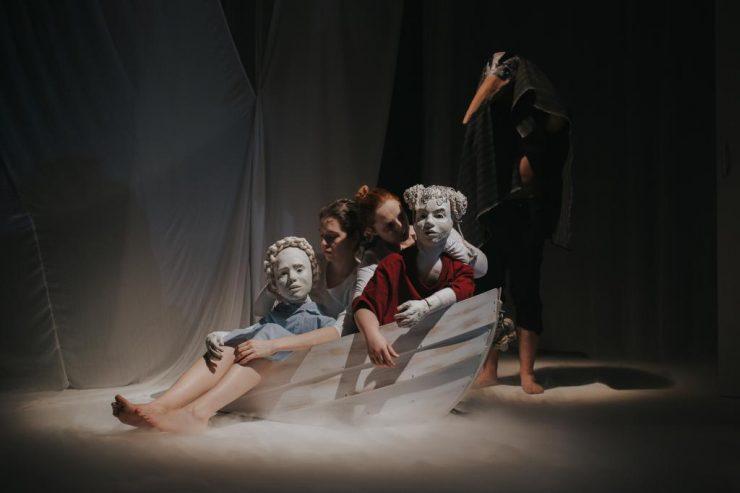 Bábkové divadlo na Rázcestí: Tajomný maják (foto K. Baranyai)