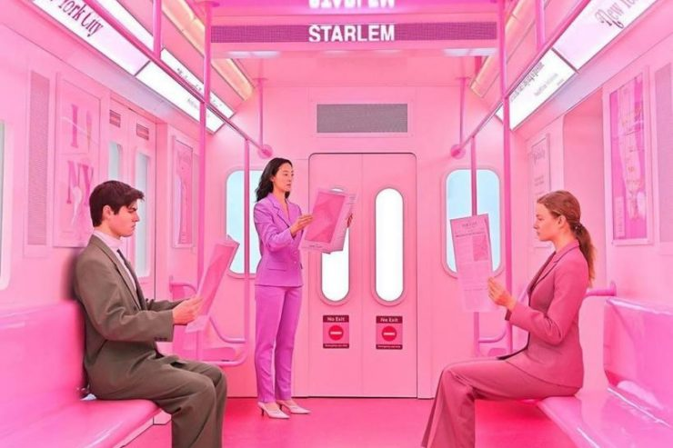 Pink Subway (M. Švarbová)