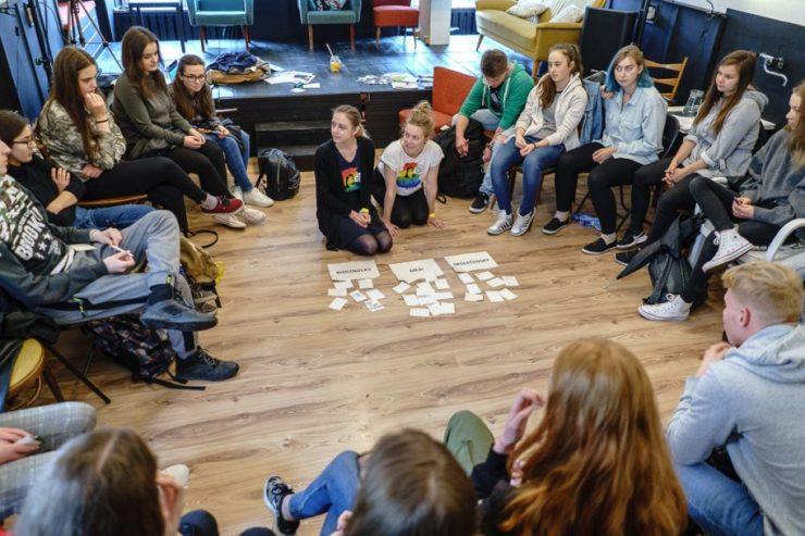 Stretnutie so študentmi (foto archív Diery do sveta)