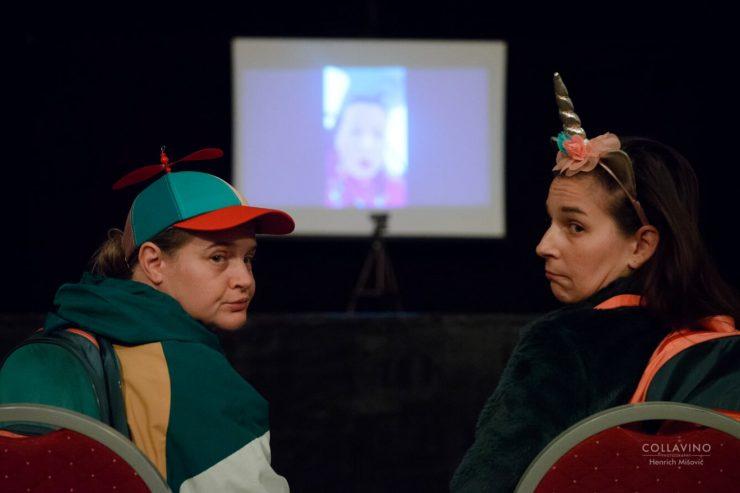 Nové divadlo: Rozprávky cez telefón (foto Collavino)