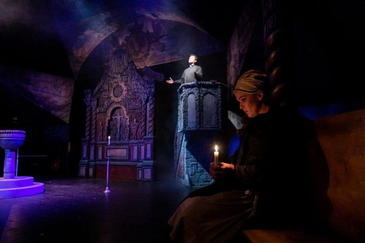 Divadlo Aréna: Jánošík (foto P. Chvostek)