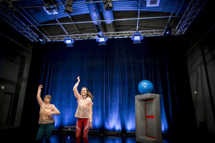 Tanec a fyzika – online laboratoř (foto V. Brtnický)