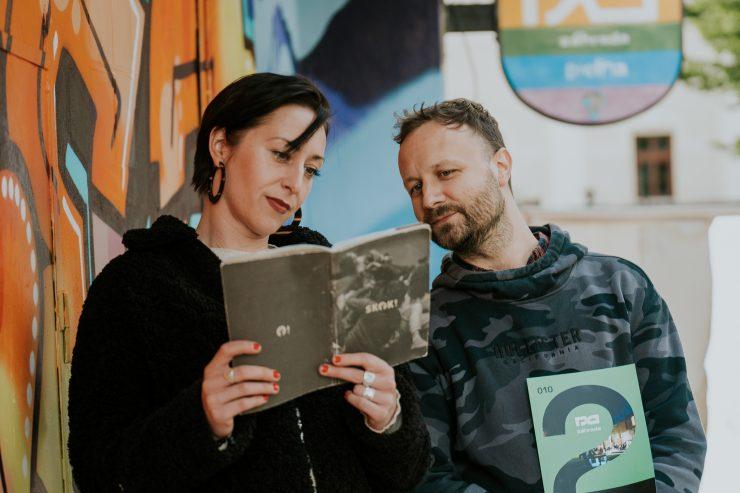Kristína Chmelíková a Milan Zvada (foto K. Baranyai)