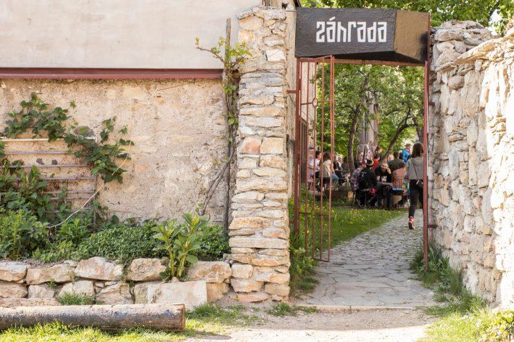 Vstup do Záhrady (foto J. Chmelík)