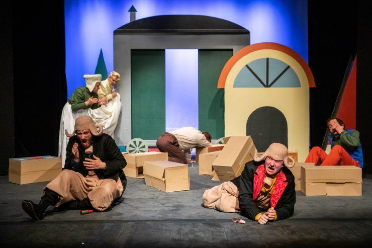 Bratislavské bábkové divadlo: Budkáčik a Dubkáčik (foto J. Starovecký)