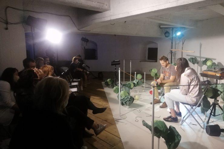 Diskusia po predstavení (foto V. Pachová)