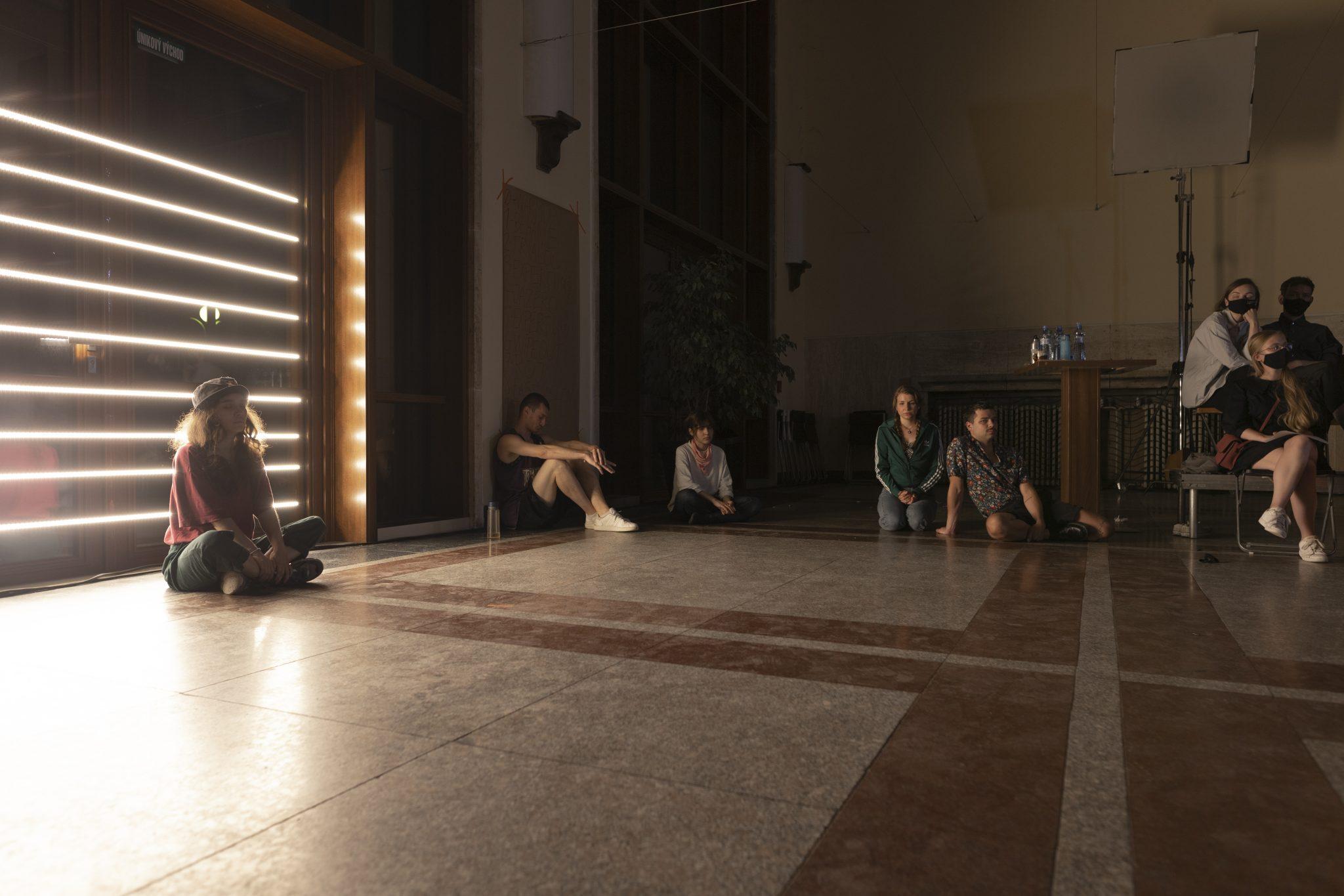 Peter Gonda: Piece na mieru náhodných dvanástich konkrétnych nehercov (foto K. Golisová)