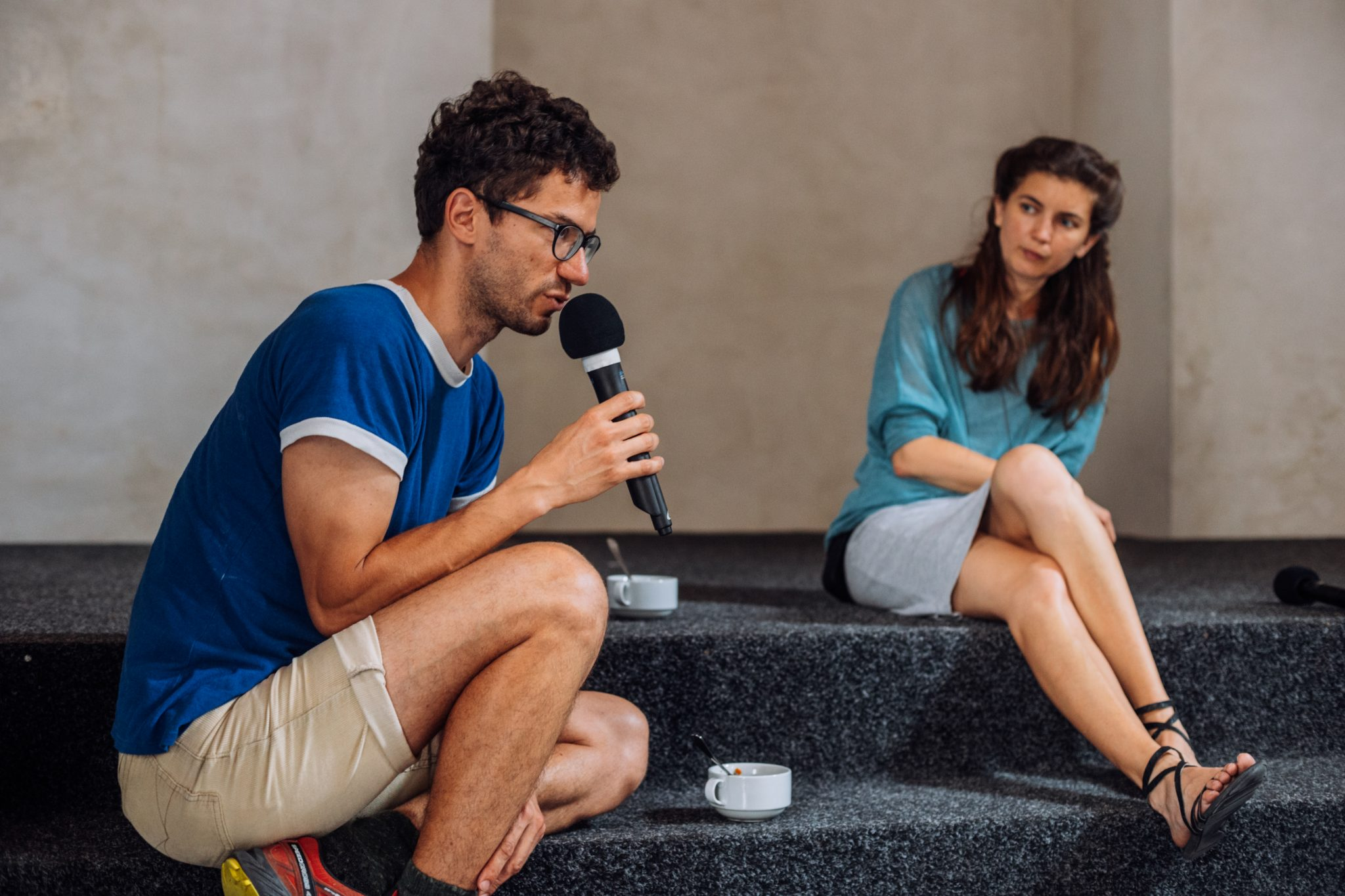 Diskusia o pobývaní vo Sphére (foto M. Jančúch)