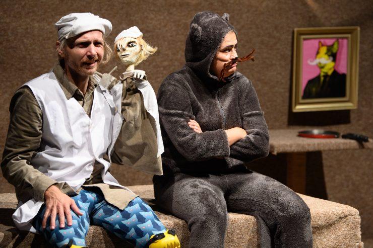Nové divadlo: Kocúr v čižmách (foto B. Konečný)